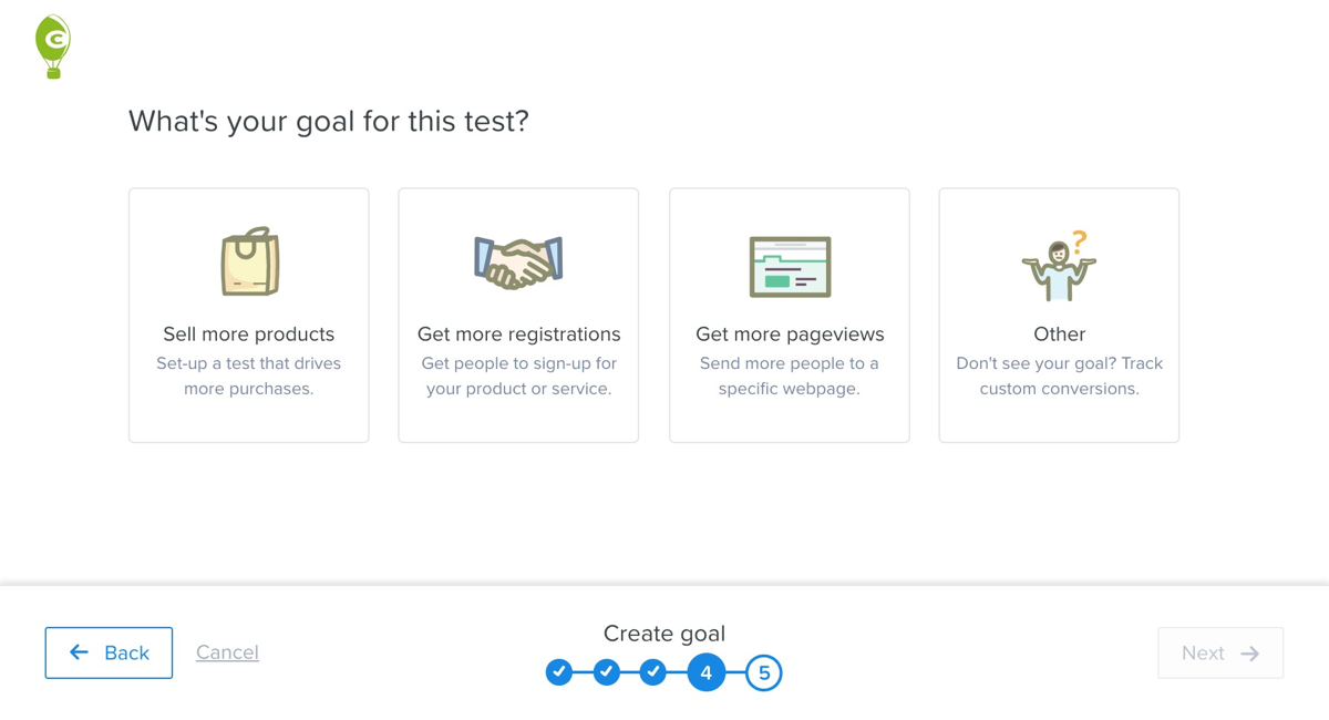 test goal