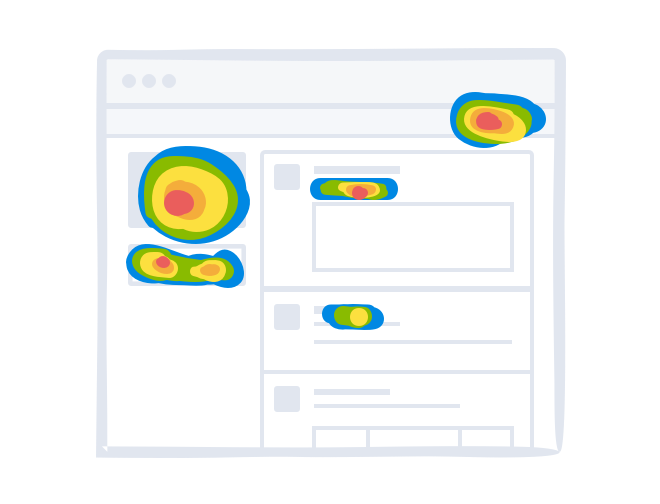 Heatmap click report crazy
